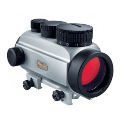 NIKON-Monarch-VSD-Red-Dot-Sight-1-4-6-8-or-10-MOA-Silver-8431